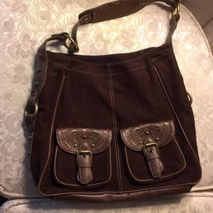 Mercer and mercer Purse Handbag with pockets